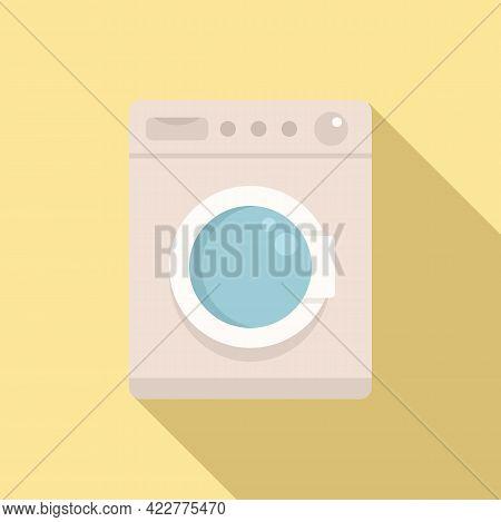 Softener Washing Machine Icon. Flat Illustration Of Softener Washing Machine Vector Icon For Web Des