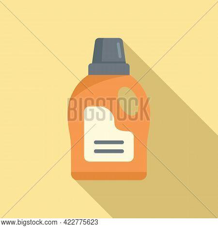 Softener Wash Icon. Flat Illustration Of Softener Wash Vector Icon For Web Design