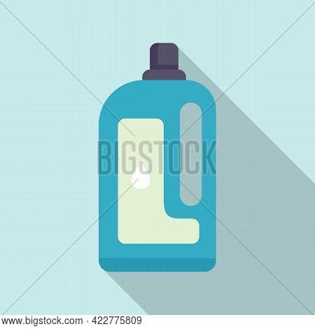 Softener Clean Bottle Icon. Flat Illustration Of Softener Clean Bottle Vector Icon For Web Design