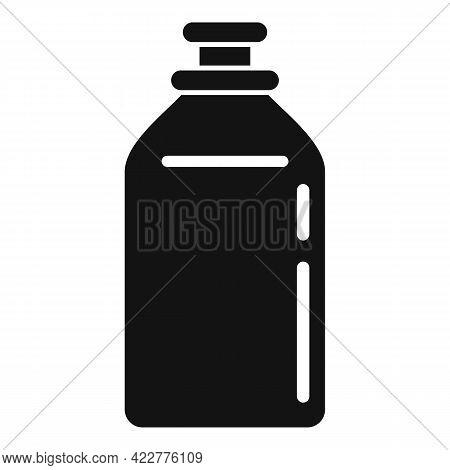 Softener Toilet Bottle Icon. Simple Illustration Of Softener Toilet Bottle Vector Icon For Web Desig