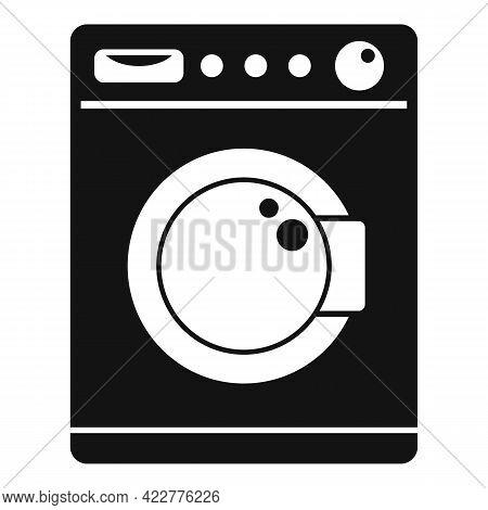 Softener Washing Machine Icon. Simple Illustration Of Softener Washing Machine Vector Icon For Web D