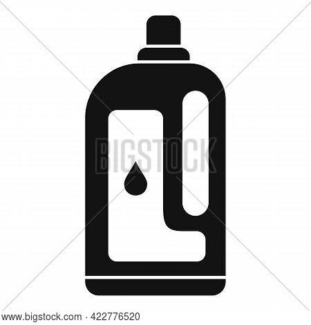 Softener Clean Bottle Icon. Simple Illustration Of Softener Clean Bottle Vector Icon For Web Design