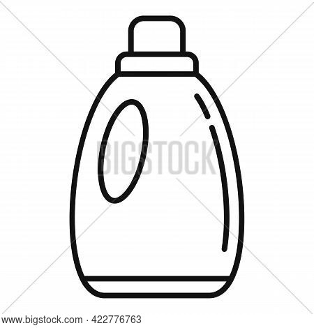 Softener Fabric Icon. Outline Softener Fabric Vector Icon For Web Design Isolated On White Backgroun