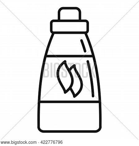 Softener Laundry Icon. Outline Softener Laundry Vector Icon For Web Design Isolated On White Backgro