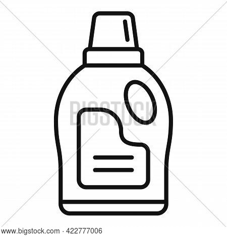 Softener Wash Icon. Outline Softener Wash Vector Icon For Web Design Isolated On White Background