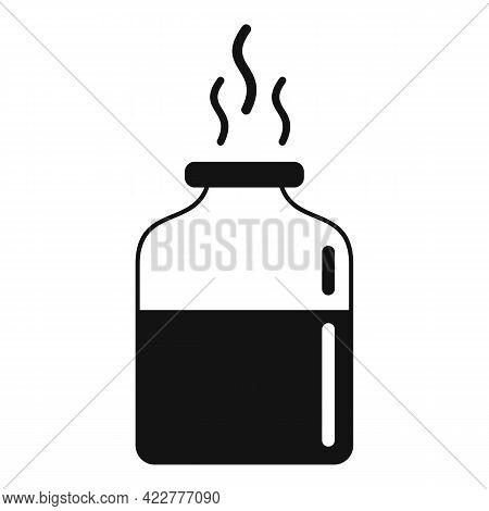 Essential Oils Hot Icon. Simple Illustration Of Essential Oils Hot Vector Icon For Web Design Isolat