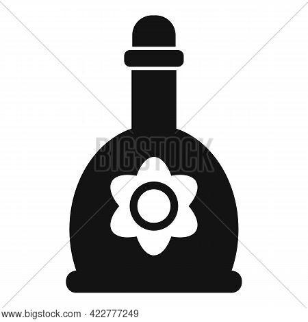 Essential Oils Bottle Icon. Simple Illustration Of Essential Oils Bottle Vector Icon For Web Design
