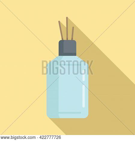 Aroma Diffuser Icon. Flat Illustration Of Aroma Diffuser Vector Icon For Web Design