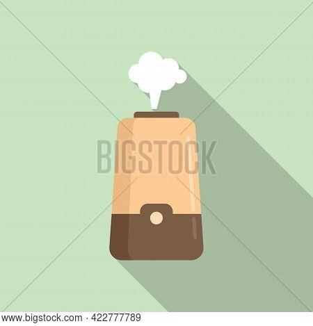 Freshener Diffuser Icon. Flat Illustration Of Freshener Diffuser Vector Icon For Web Design