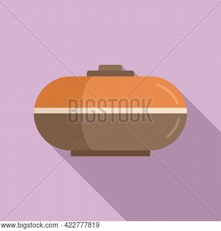 Essential Oil Diffuser Icon. Flat Illustration Of Essential Oil Diffuser Vector Icon For Web Design