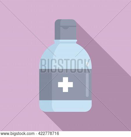 Disinfection Dispenser Icon. Flat Illustration Of Disinfection Dispenser Vector Icon For Web Design