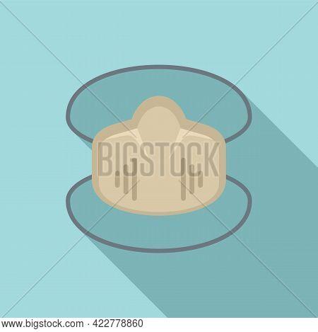 Disinfection Soft Mask Icon. Flat Illustration Of Disinfection Soft Mask Vector Icon For Web Design