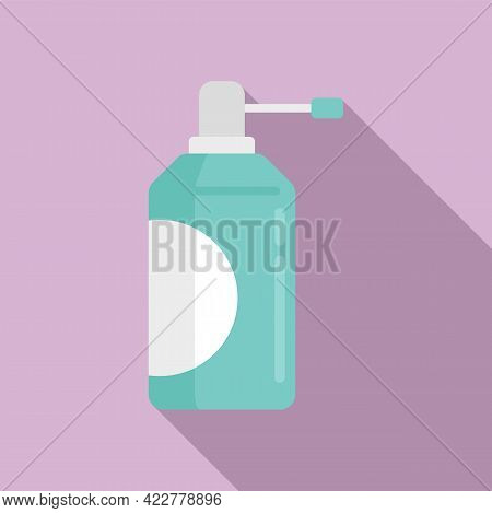 Disinfection Soap Dispenser Icon. Flat Illustration Of Disinfection Soap Dispenser Vector Icon For W