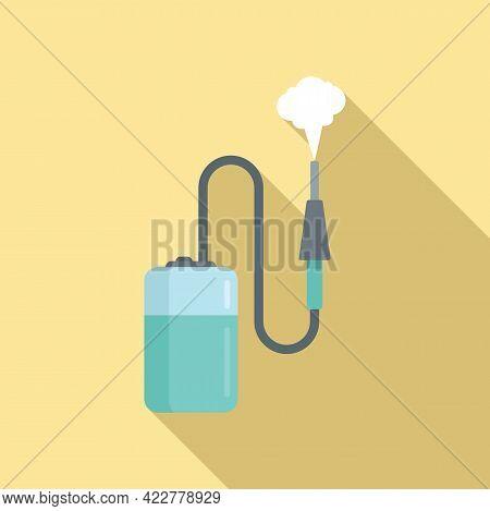 Disinfection Equipment Icon. Flat Illustration Of Disinfection Equipment Vector Icon For Web Design
