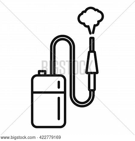 Disinfection Equipment Icon. Outline Disinfection Equipment Vector Icon For Web Design Isolated On W