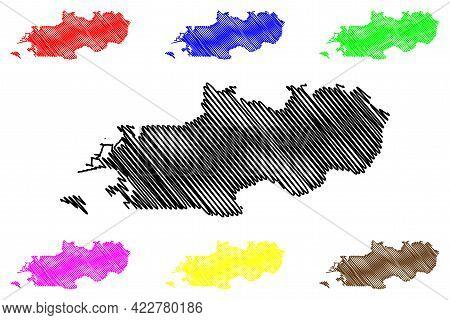 Weber County, State Of Utah (u.s. County, United States Of America, Usa, U.s., Us) Map Vector Illust