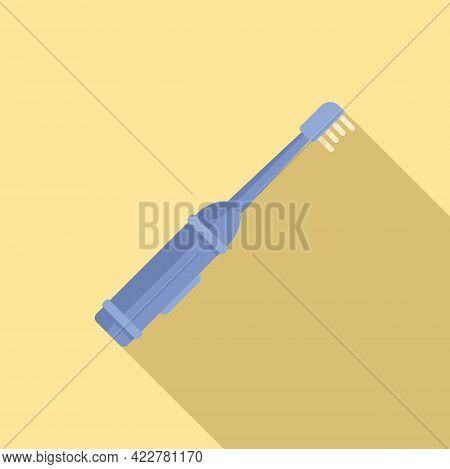 Electric Toothbrush Care Icon. Flat Illustration Of Electric Toothbrush Care Vector Icon For Web Des