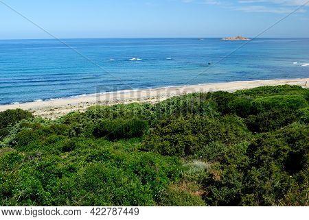 View Of The Li Feruli Beach, Trinità D\'agultu