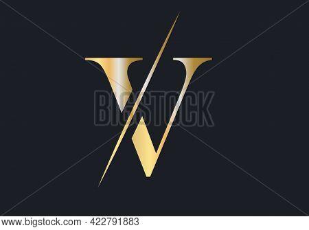 Elegant And Stylish V Logo Design For Your Company. V Logo For Fashion Branding.