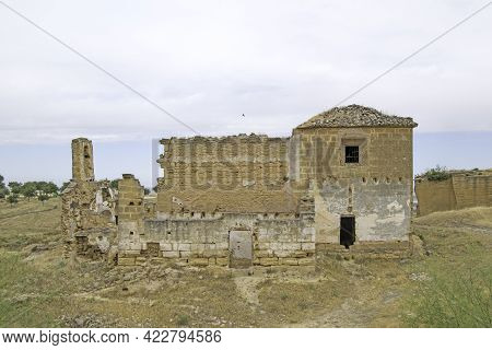 Hermitage Of Via Sacra In Ruins, Osuna, Seville, Andalusia, Spain