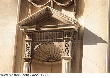 Savona, Italy - September 26th 2019: Savona Cathedral, Cattedrale Di Santa Maria Assunta, Roman Catt