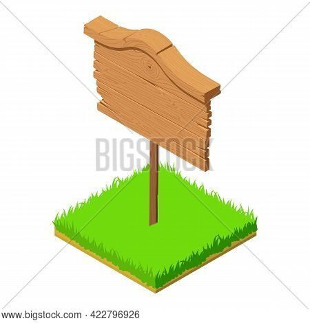 Western Sign Icon. Isometric Illustration Of Western Sign Vector Icon For Web