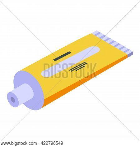 Arthritis Cream Tube Icon. Isometric Of Arthritis Cream Tube Vector Icon For Web Design Isolated On