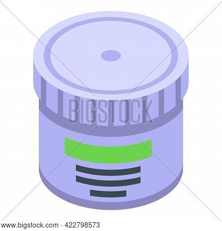 Arthritis Cream Jar Icon. Isometric Of Arthritis Cream Jar Vector Icon For Web Design Isolated On Wh