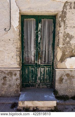 2021 05 30 Favigniana Green Wooden Door