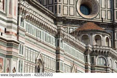 Cathedral Of Santa Maria Del Fiore Cathedral, Duomo Of Florence. Italy Europe