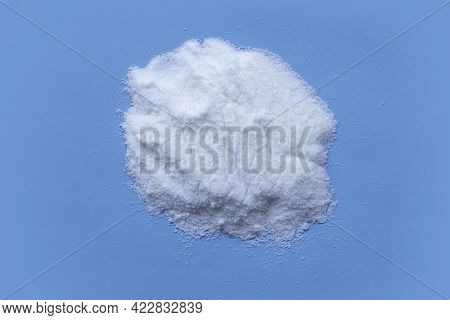 Ors Or Oral Rehydration Salt On Blue Background.