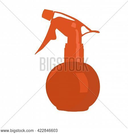 Water Sprayer For Hair Salon Salon. Watering Of Plants. Isolated On A White Background.