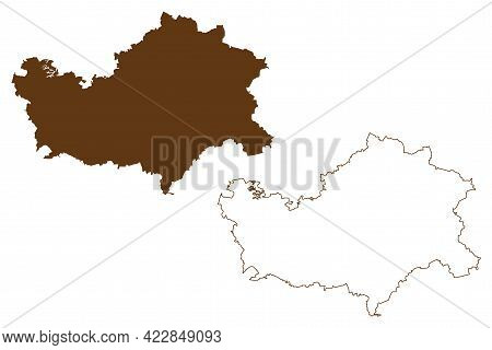Mansfeld-sudharz District (federal Republic Of Germany, Rural District, Free State Of Saxony-anhalt)