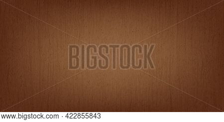 Retro Old Grunge Vintage Brown Wooden Texture Abstract Background Vector Illustration