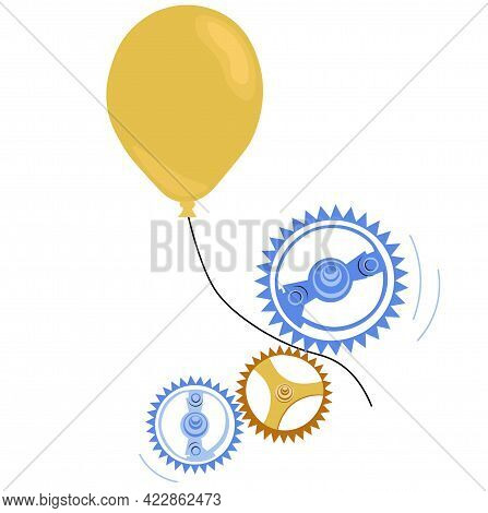 Bureaucracy Vector Stock Illustration. An Idea, A Proposal That Goes Through All The Stages Of Appro