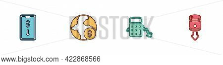 Set Mobile Stock Trading, Global Economic Crisis, Calculation Of Expenses And Drop Crude Oil Price I