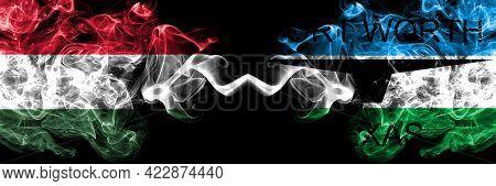Hungary, Hungarian Vs United States Of America, America, Us, Usa, American, Fort Worth, Texas Smoky