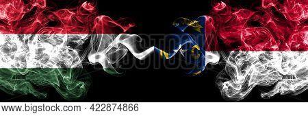 Hungary, Hungarian Vs United States Of America, America, Us, Usa, American, North Carolina Smoky Fla