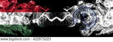 Hungary, Hungarian Vs United States Of America, America, Us, Usa, American, Yonkers, New York Smoky