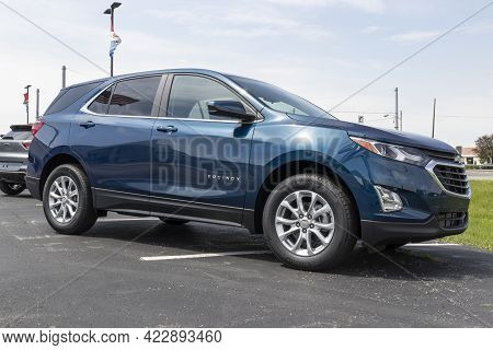 Kokomo - Circa June 2021: Chevrolet Equinox Suv Display. Chevy Is A Division Of General Motors Also