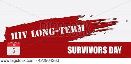 Card For Event June Day Hiv Long-term Survivors Day