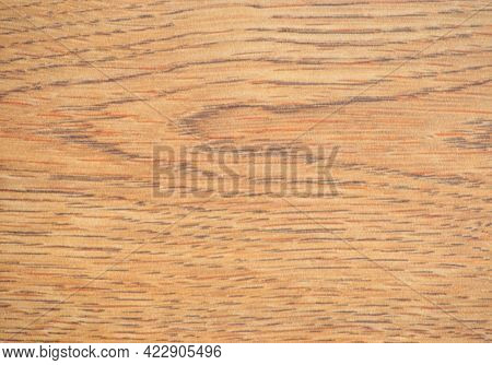 Light Alder, A Flat Surface Of Natural Wood With A Wavy Pattern, Close-up.