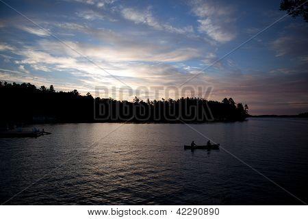 Dawn in Muskoka