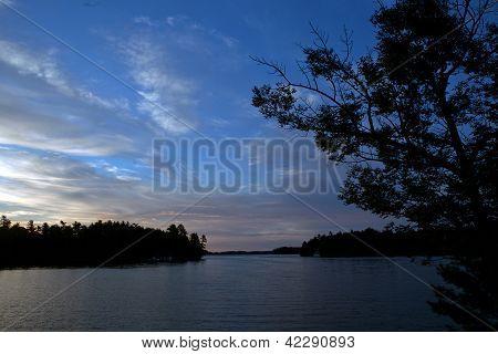 Sunrise in Muskoka