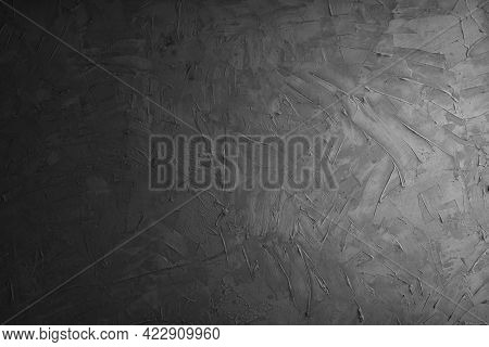 Grey Cement And Dark Wall And Concreate Background