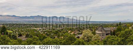 Scenic View From Hidden Valley Park In Salt Lake City, Utah