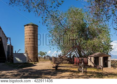 Historic Fielding Garr Ranch In Antelope Island State Park, Utah