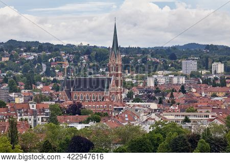 The Herz-jesu-kirche (english: Church Of The Sacred Heart Of Jesus) Is The Largest Church In Graz, A