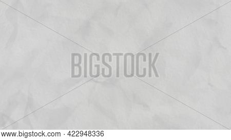 Moving Light Crumpled Paper Background, Seamless Loop And Stop Motion Effect. Animation. Creased Abs