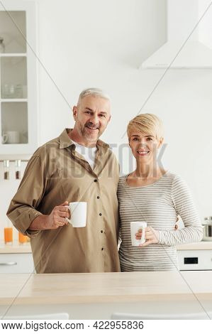 Good Morning With Coffee And Breakfast Together, Vitality And Covid-19 Self-isolation